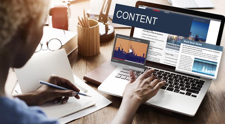 Budget marketing digital - le contenu est roi