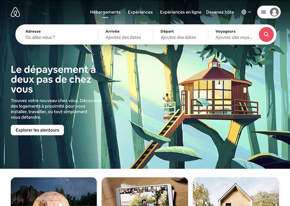 Budget marketing digital - site airbnb
