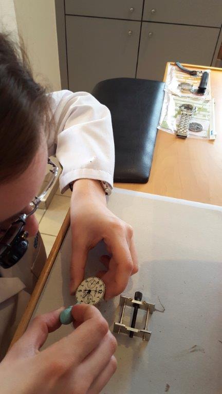 Réparations de montres