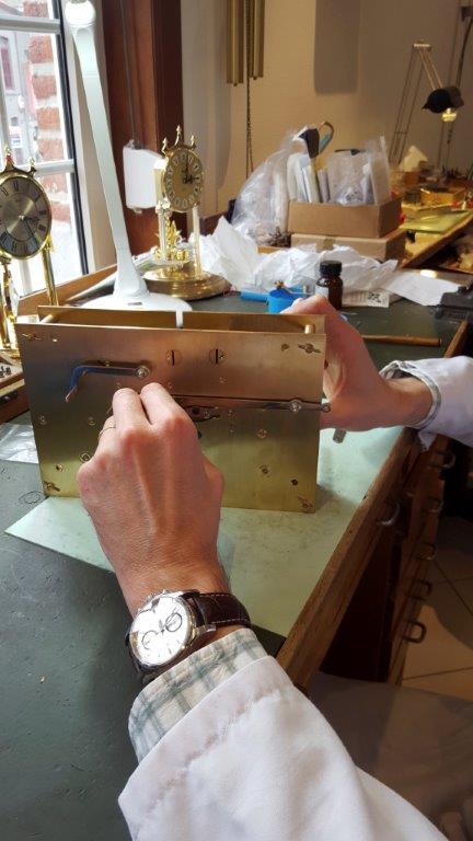 Réparations de pendules